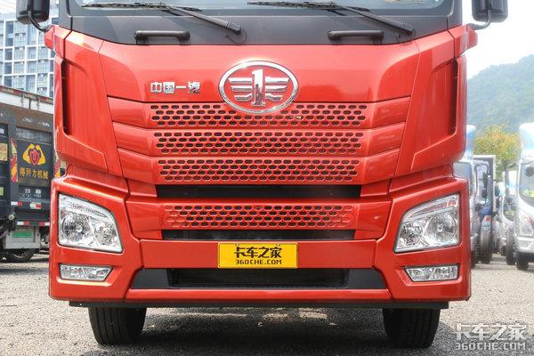 自重仅8.2吨轮端还免维护国六400马力的解放JH630万入手