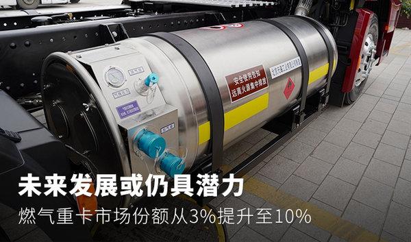 燃气重卡市场份额从3%提升至10%未来发展仍具潜力