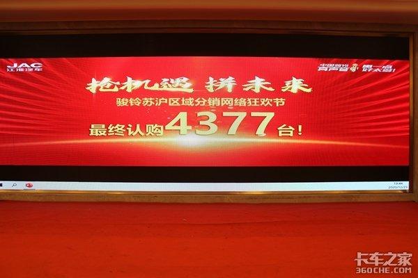 抢机遇拼未来骏铃苏沪区域分销网络狂欢节圆满举办