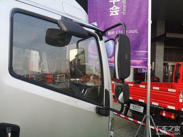 小排放大马力德威国六150马力这款超运C500还能上蓝牌!