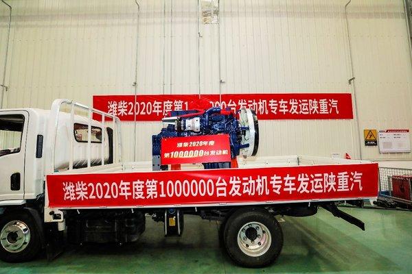 今年产销发动机破100万台凸显潍柴实力