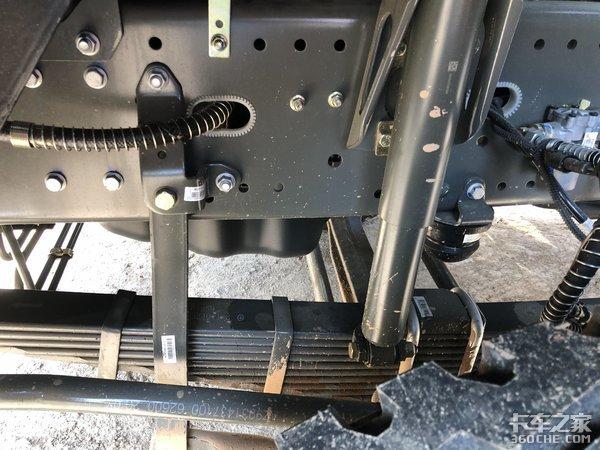 配13L发动机540马力这款汕德卡自卸真强