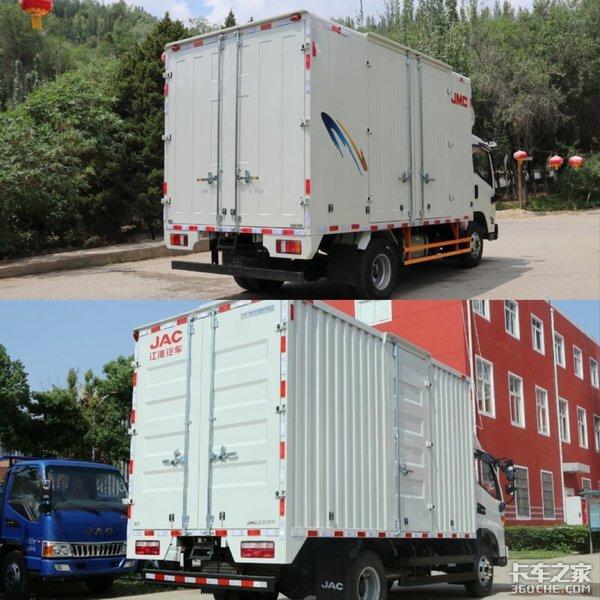 零担轻卡运输车对比凯运和骏铃你选谁