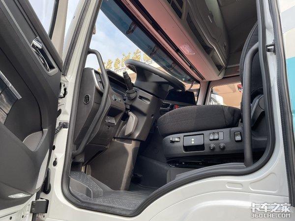 车市速看:全新驾驶室的纯电红岩杰狮H6