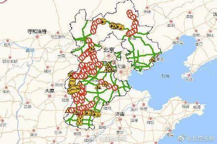 河北:省内11条高速禁止上道、劝返车辆