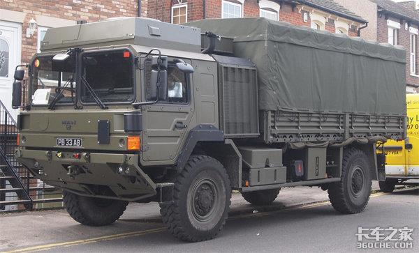 曼恩HX60军用卡车优秀的机动能力模块化底盘是亮点!