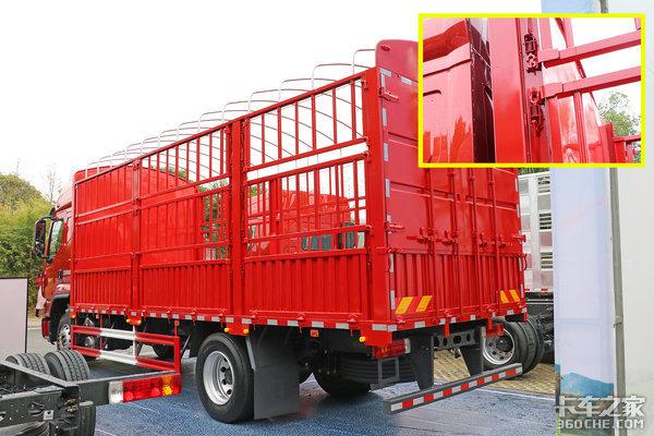 自重5吨马力260加宽卧铺长续航这台乘龙H56米8中卡能耐不小