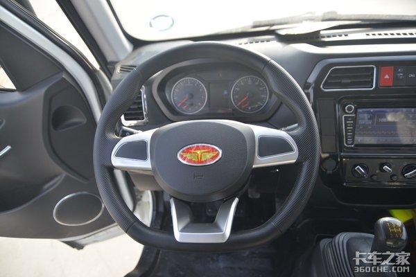 车市速看:双燃料小卡厢长4米这台唐骏欧玲V5实用性很强