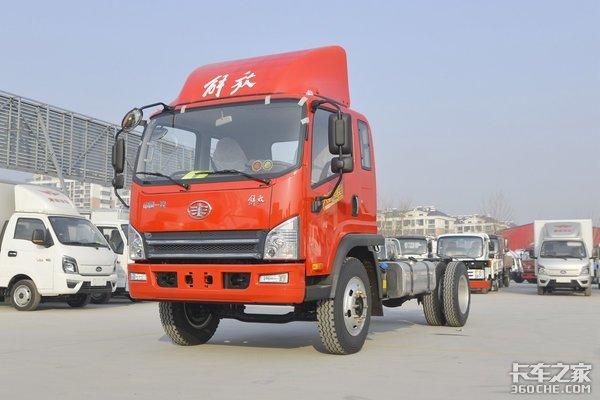 190马力合规装载近9吨虎VH大王版4米8载货车图解