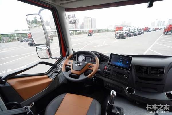 解放卡车中控颜值大比拼你最爱哪一款