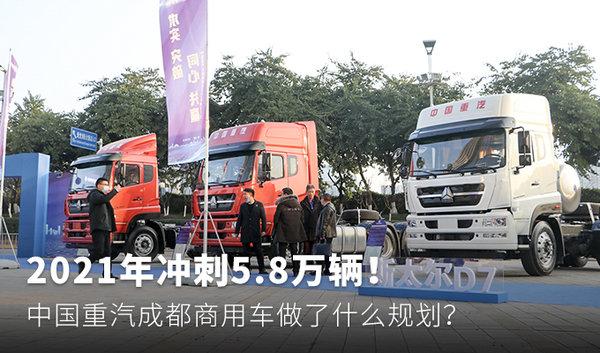 2021年冲刺5.8万辆!中国重汽成都商用车做了什么规划?