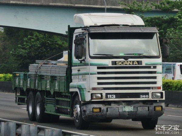 用V8斯堪尼亚拉沙石台湾岛司机真的很任性