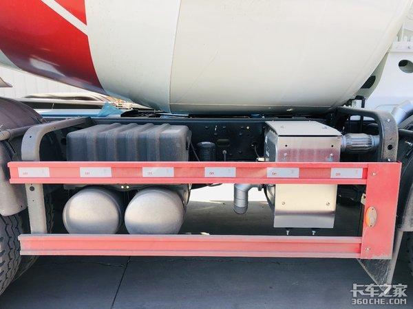 5.9方小容量罐体三一C8搅拌车图解潍柴WP8动力链可靠耐用
