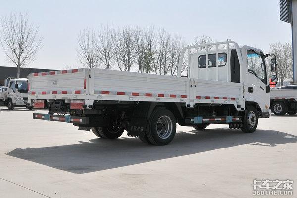 4米2能下地库还能合规装两吨6.75万的唐骏金利卡Ⅱ真亲民