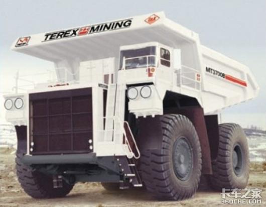 可装345吨车身超宽无法上路深挖你所不了解的矿用自卸