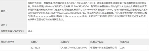 合��b�d11��以上虎VH自卸�公告曝光