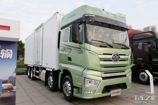 460马力搭配AMT!你能想象这是一辆载货车吗?这速比要起飞