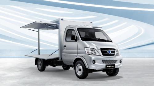 年货已备好北汽昌河K系列翼展售货车开启致富新生活