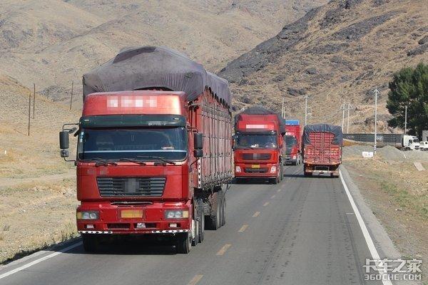 安徽高速:部分路段禁止黄牌货车上高速