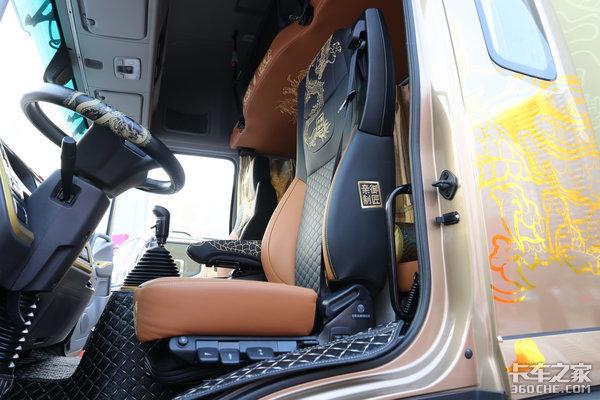 奥铃大黄蜂皇宫版让卡车司机也过一过皇帝瘾