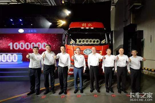 解放卡车的峥嵘岁月――盛放篇:百万传奇