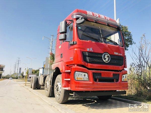 高性价比载货车全套黄金动力匹配陕汽德龙新M3000真的入手