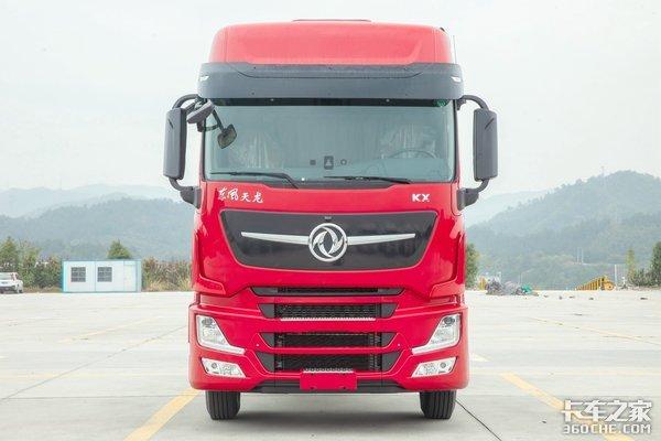 搭载东康15升燃气动力新款天龙旗舰KX也出LNG车型了!