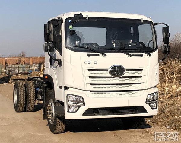 5米2六缸机装中卡车头解放申报的这款车型要干嘛