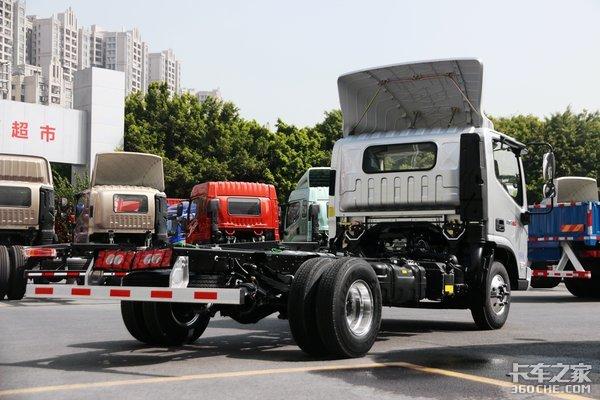 170匹加ZF六挡国六奥铃捷运小钢炮全车装铝圈