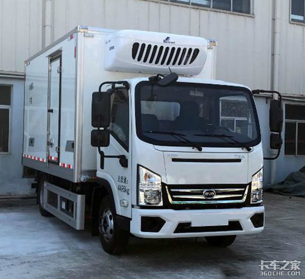 341批公告看点新能源冷藏卡车大涨100%广西五菱居榜首