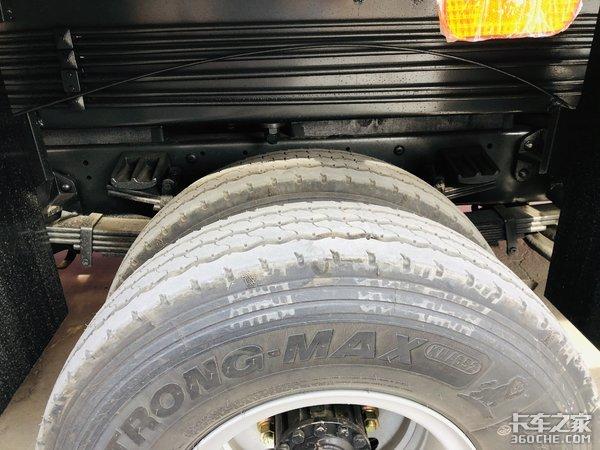 适合城乡市场凯马凯捷M3吊车底盘解读