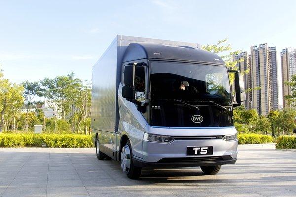 比亞迪T5D獲卡車之家2020年度新能源車