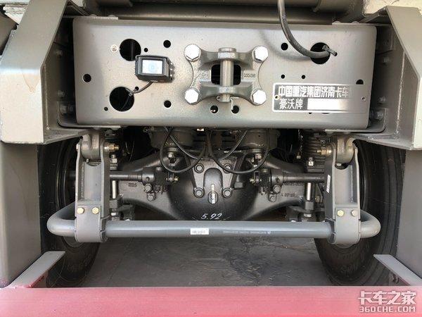 潍柴400马力发动机解读重汽HOWOTX