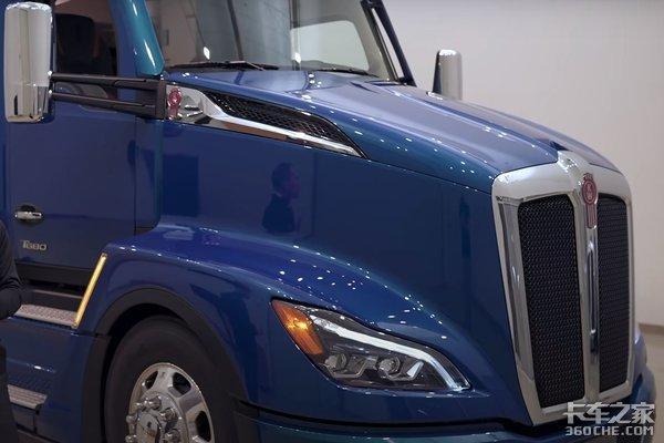 Kenworth新车!全新一代T680长头重卡这样的驾驶室你喜欢吗?
