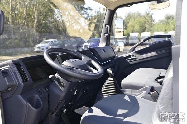 卡车之家年度盛典:江西五十铃翼放荣获2020年度车型
