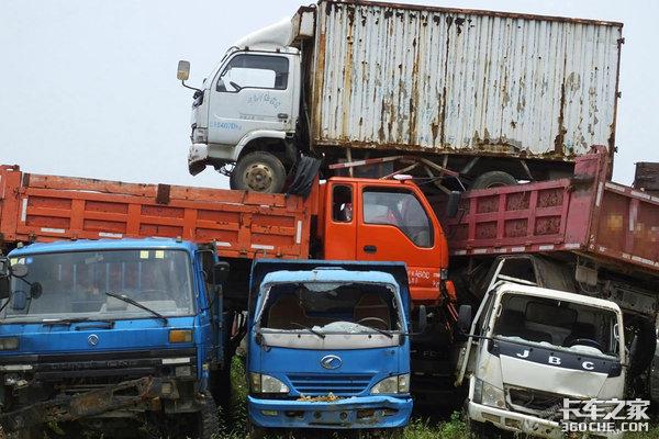 """小心车辆在""""黑市""""复活!到底该如何报废卡车?注意这些流程"""