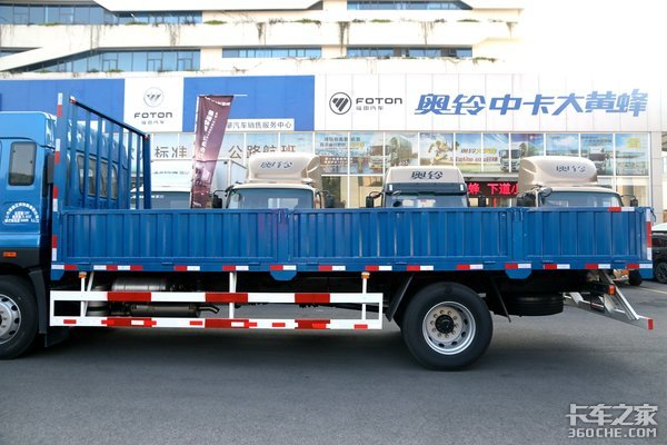 拥有超高颜值的解放6米8!全新平台打造的JK6搭载220解放动力