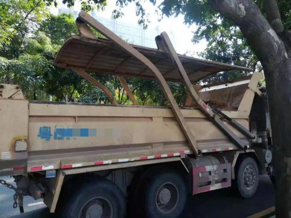 每辆罚5000元!深圳泥头车未按规定设置密封式加盖装置