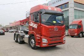 自重8.2吨还是国六车型 解放JH6售30万