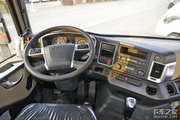 240马力主副气囊座椅、准平地板大空间格尔发A5X6米8中卡图解