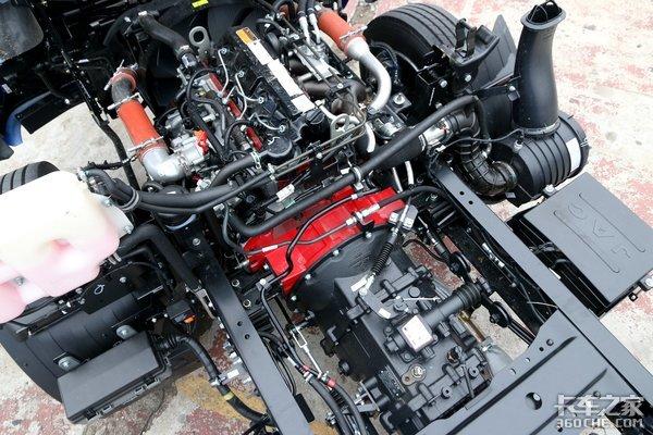 搭载170马力安康国六发动机5米4帅铃Q7大黄牌实拍