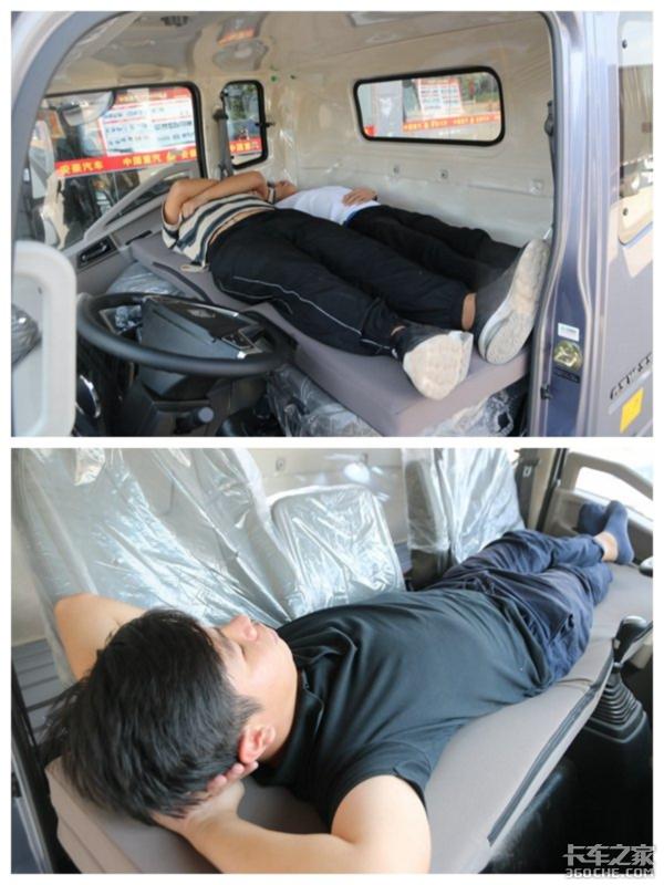 卧铺只是硬板床?看看老外的车有多夸张这床还带遥控器
