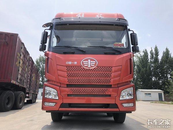 适合中短途零担普货运输青汽JH66x2载货车优势兼倍