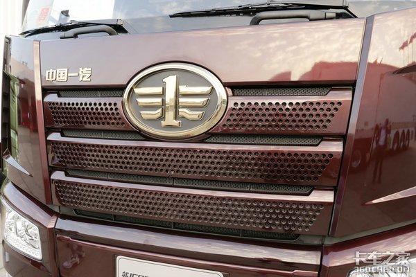 460马力才是真的猛!解放J6P载货车也有大马力带1200升油箱