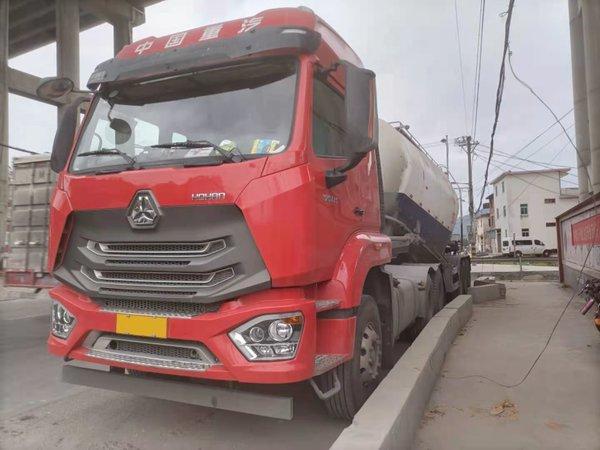散装水泥运输重汽豪沃N7G表现十分突出