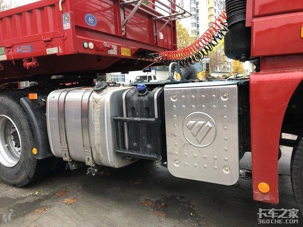 自动挡牵引车配新国标挂车钢材运输新方向