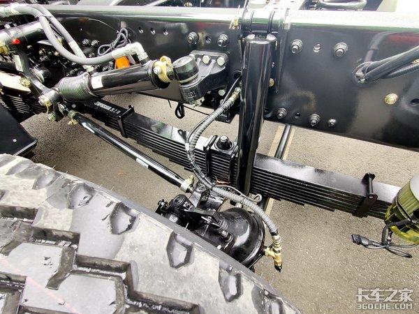 搭载道依茨12升国六动力三一最强承载的全新8x4自卸车抢先看