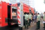 温州消防斥资1000万元购置三辆消防车