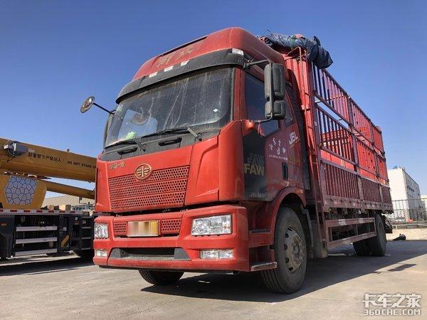 从事普货运输选择二手解放J6L6m8车型最合适