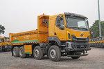 四轴自卸重12.8吨 不仅轻还更可靠 标载利器乘龙H5图解